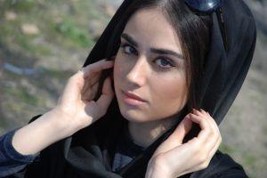 women brunette haniyeh gholami