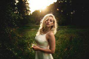 women dress blonde women outdoors
