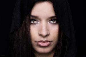 women face portrait model