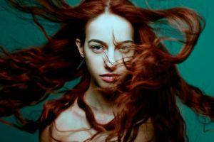 women model redhead