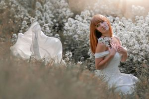 women outdoors brides women