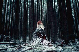 women outdoors fantasy art outdoors women