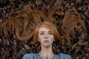 women outdoors portrait face women model