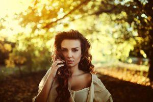 women outdoors women portrait