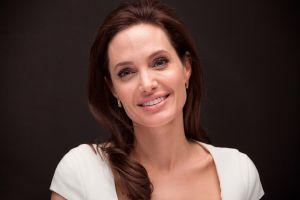 women portrait actress angelina jolie celebrity