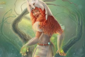 women rpg druids pc gaming creature drawing tibia