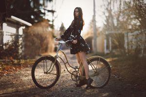 women shoes dress women with bikes