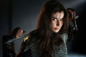 women sword model