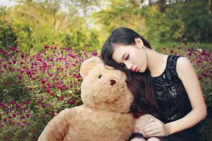 women teddy bears asian