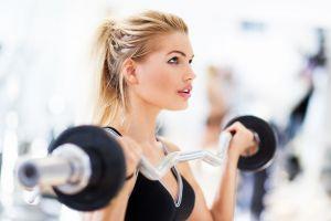 working out women model fitness model