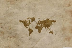 world map map paper