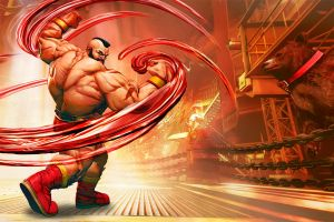 zangief(street fighter) street fighter red