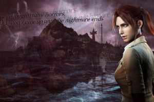 zombies quote video games biohazard capcom resident evil claire redfield resident evil 2