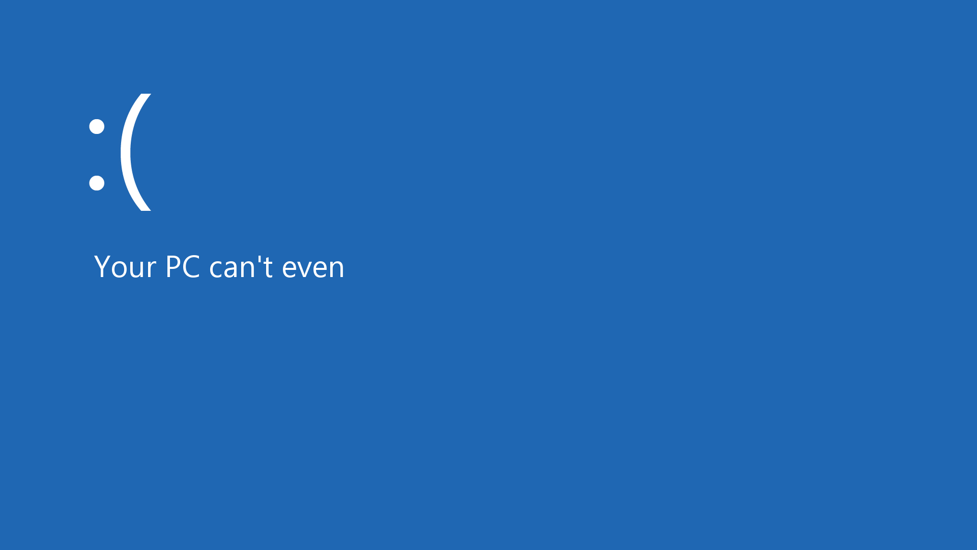 windows 8 humor frown emoticons